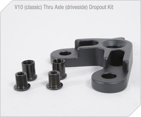 V10 (classic) Driveside Thruaxle Dropout